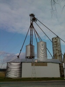 Farm Silo Ham Radio Antenna Site