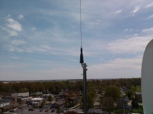 VHF Scanner Feed Antenna In Merrill Mi