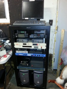 Radio / Electronics Server Rack